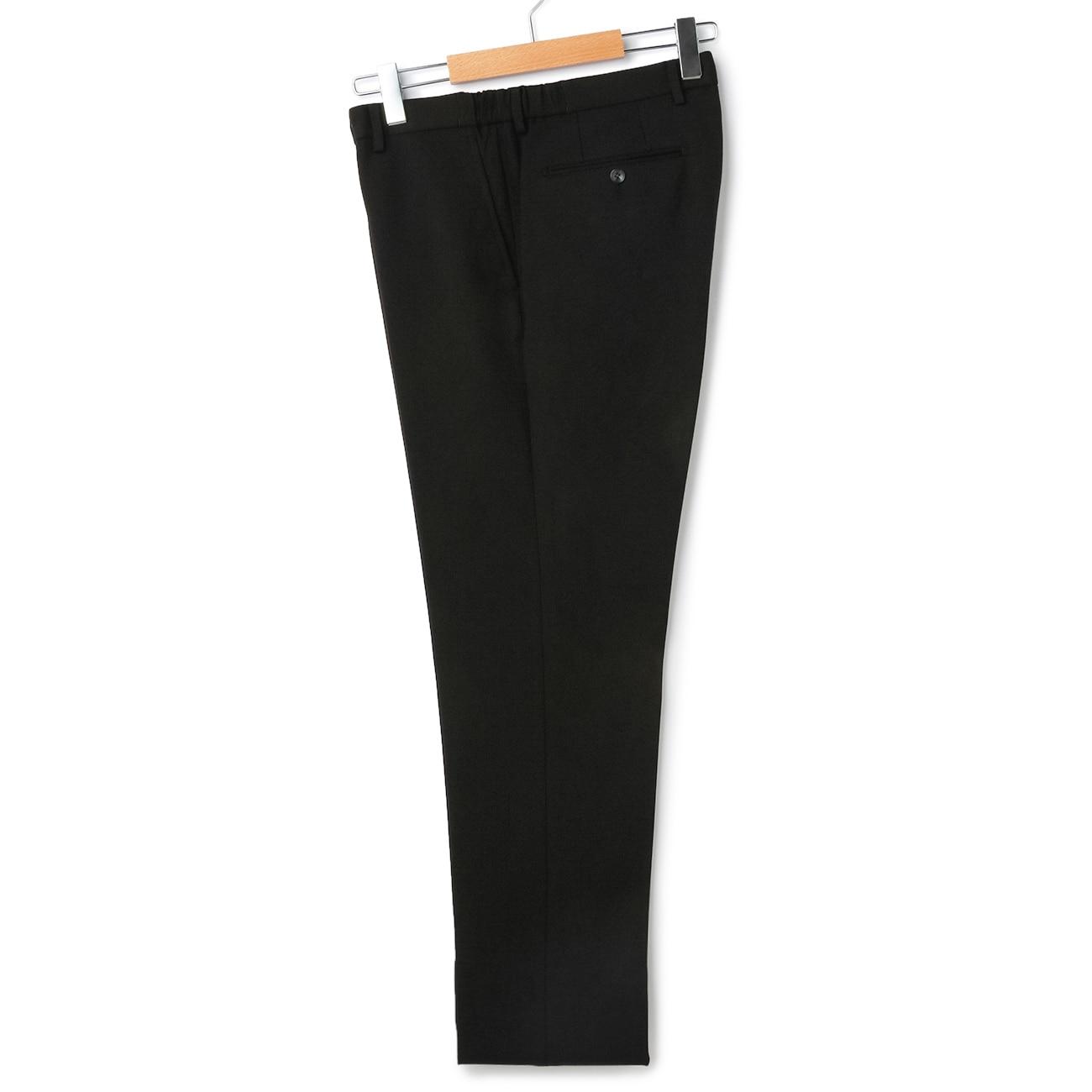 【nano・universe DESIGN】ストレッチジャージーパンツ 黒織柄 【セットアップ着用可】